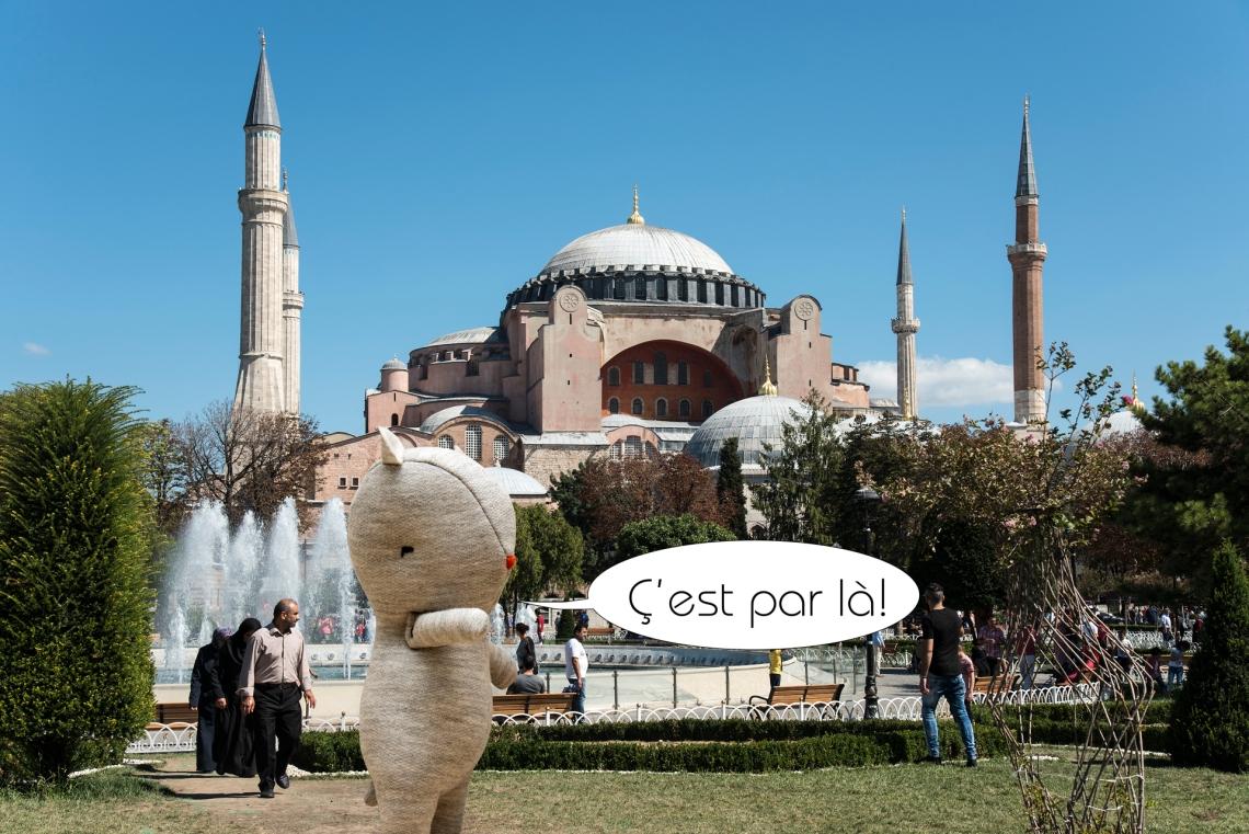 3-Louis ayasofia a istanbul