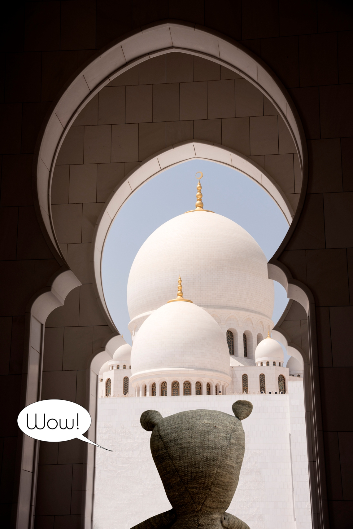 7-Louis mosquée fayed a abu dhabi