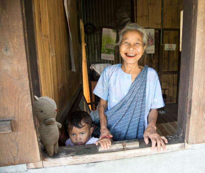 8 -Louis lakimai dans le petit village de Mawlynnong en Inde du nord-est