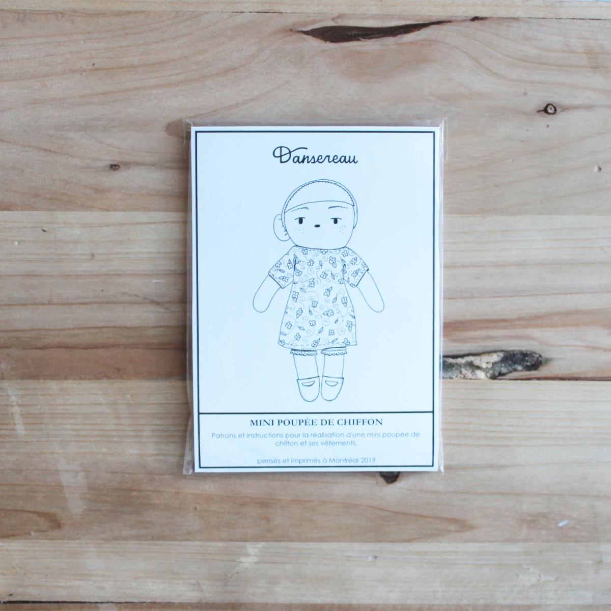 patron no.1 : mini poupée dechiffon